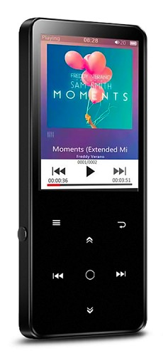 BENJIE MP4 Player BJ-A12PLUS-K11, Bluetooth, 2.4 OLED, 8GB, μαύρο | BJ-A12PLUS-K11