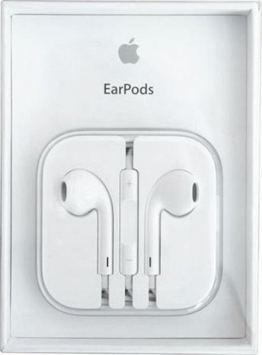 APPLE MD827ZM/B EarPods with Remote and Mic 3.5mm (Retail Box)
