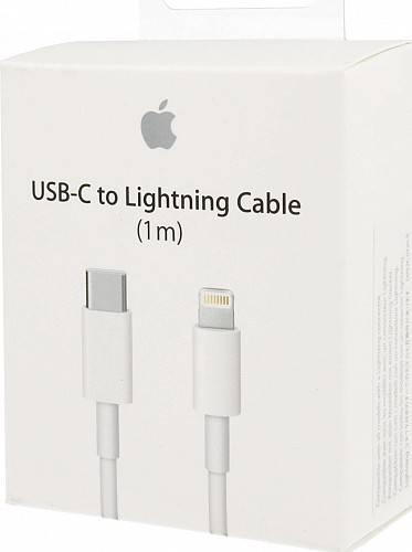 APPLE MQGJ2ZM/A Lightning to USB-C Cable White 1m (Retail Box)