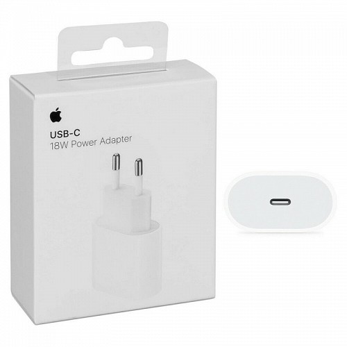 APPLE MU7V2ZM/A Wall Charger 18W USB-C (Retail Box)