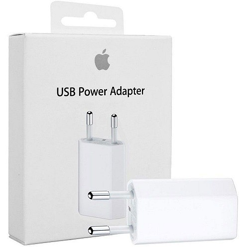 APPLE MD813ZM/A Wall Charger 5W USB-A (Retail Box)